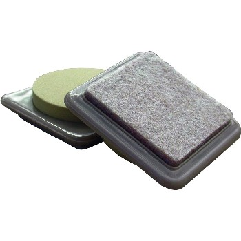 "FeltGard Square Mover Pads ~ 3"" x 3"""