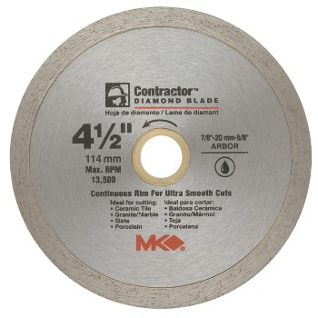 MK Diamond 167028 4-1/2in. Diamond Blade