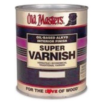 Super Varnish,  Clear Satin Sheen ~ Gallon