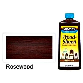 Woodsheen Rubbing Stain, Rosewood ~ 12 oz.
