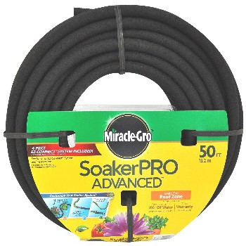 "Soaker Hose, Miracle-Gro Brand  ~ 3/8"" x 50 ft"