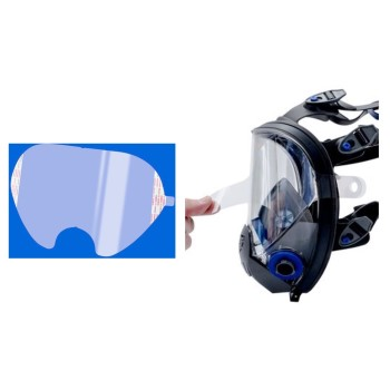 Facepiece Respirator Stacked Lens Covers