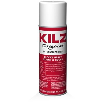 MasterChem   10004 KILZ Sealer-Primer-Stain Blocker Spray, White ~ 13 oz Cans