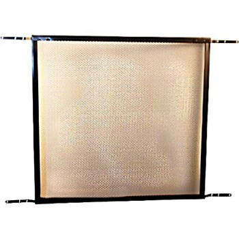Screen & Storm Door Protective Grille, Bronze Finish Aluminum  ~  24""