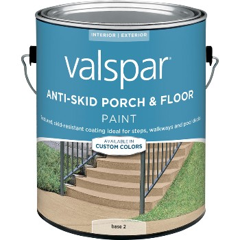 Anti-Skid Porch & Floor Paint, Base 2 ~ Gallon