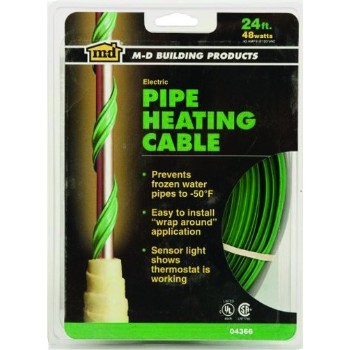 Pipe Heating Cable, 24 foot