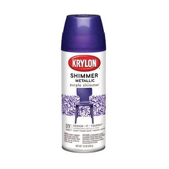 Shimmer Metallic Finish,  Purple ~ 11.5 oz Cans