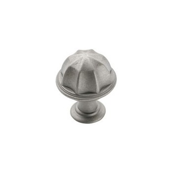 Knob - Weathered Nickel - 1 inch