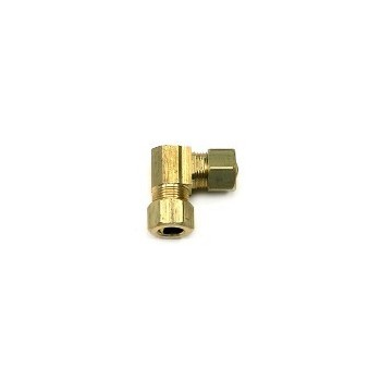 Brass Elbow, FLF ~ 3/8""