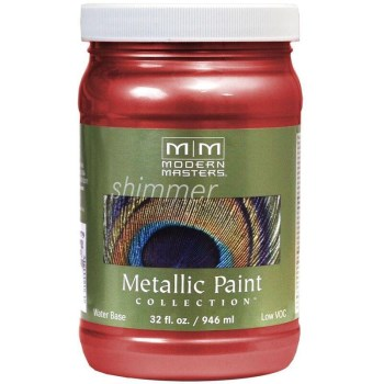 Metallic Paint, Sashay Red 32 Ounce