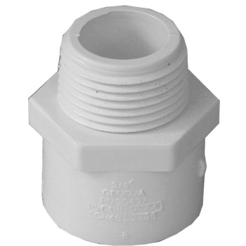 Male Adapter, 3/4 inch