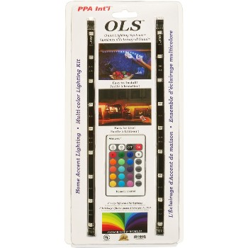 PPA Intl  OLSHARGB OLS Lighting Accent Kit, Multi-Color