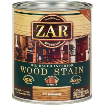 ZAR  Fruitwood Wood Stain, Quart