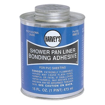 098270 16oz Showr Pan Adhesive