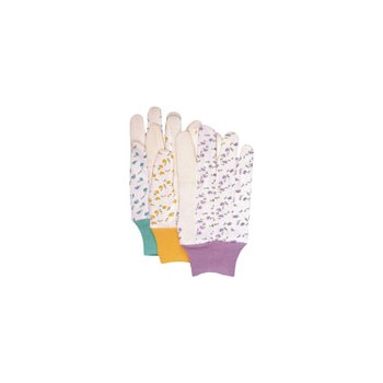Ladies Jersey Garden Gloves - Assorted Colors