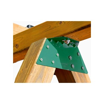 E-Z Frame Bracket, Single Unit ~ Green
