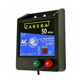Zareba 50 Mile AC Powered Low Impedance Charger