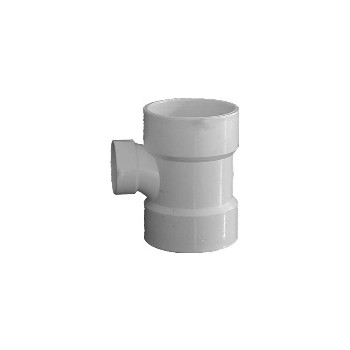 Reducing Sanitary Tee, 3 x 3 x 1 1/2 inch