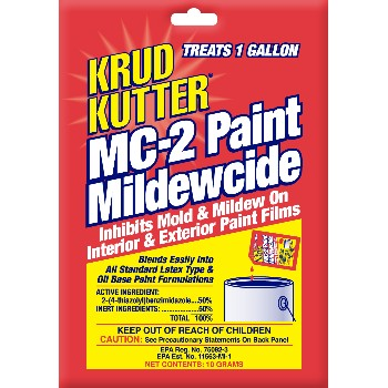 Paint Mildewcide ~ MC-2,  Treats 1 Gallon