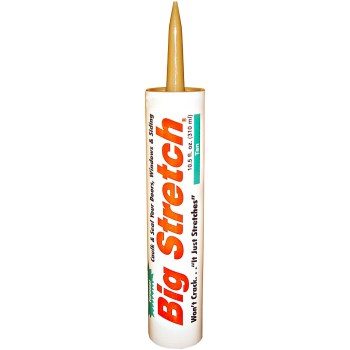 Big Stretch Acrylic Sealant, Tan 10.5oz.