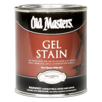 Gel Stain,  Natural Walnut ~ Quart