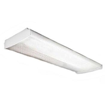 Fluorescent Wrap-Around Light Fixture ~ 48 in.