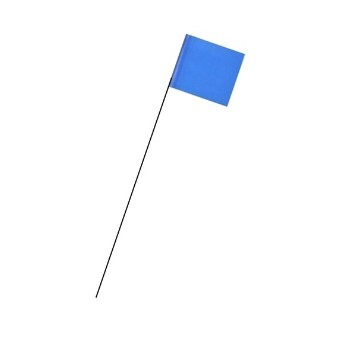 Intertape 900-BL Marking Flag, Blue