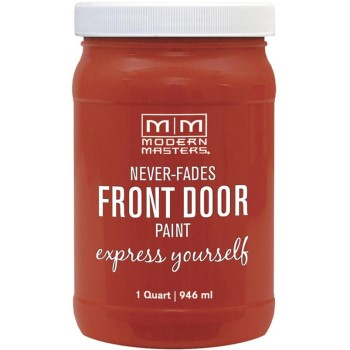 Express Yourself Front Door Satin Paint, Motivated ~ Quart