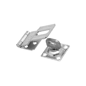 National 102855 Swivel Staple Safety Hasp - 3.25""