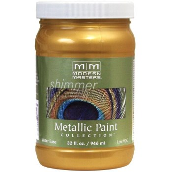 Metallic Paint, Pharaoh's Gold 32 Oz