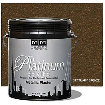 Plaster, Metallic ~ Statuary Bronze/Gallon
