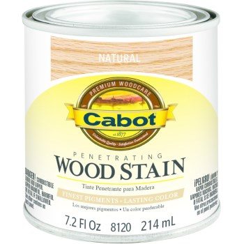 Wood Stain - Natural - 1/2 pint