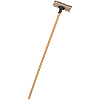"Deck Scrub Brush & Handle ~ 10"" W"