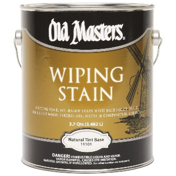 Wiping Wood Stain, Natural Tint Base  ~ Gallon