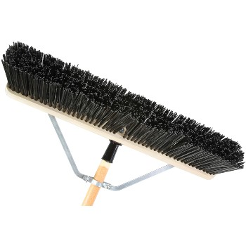Push Broom, Coarse Bristle ~ 24""