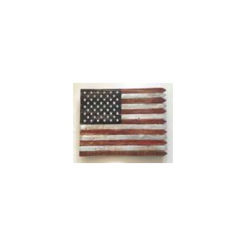 Wooden Flag Art ~ 18""