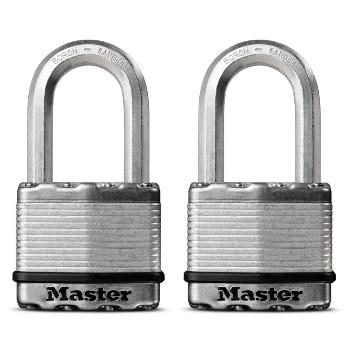 MasterLock M5XTLFHC 2pk 2in. Lam Padlock