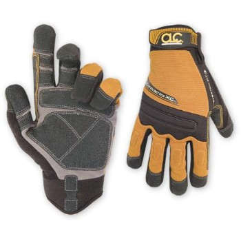 Contractor Gloves, Flex Grip Large