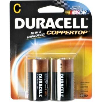 Duracell DURMN1400B2Z Duracell Alkaline Batteries ~ Size C