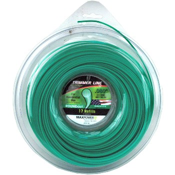 "Maxpower Parts 333180 Trimmer Line ~ .080"" x 340 Ft."