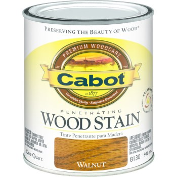 Wood Stain - Interior Walnut ~ Quart