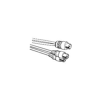 Leviton 830-C5403 Rca Jack/2 Rca Jacks