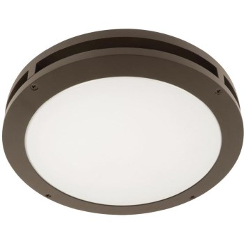 Motion Activated LED Canopy Light, Bronze ~ 13""