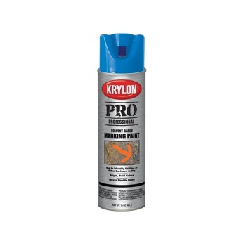 Krylon 7303 Marking Paint, Solvent Based ~ APWA Blue