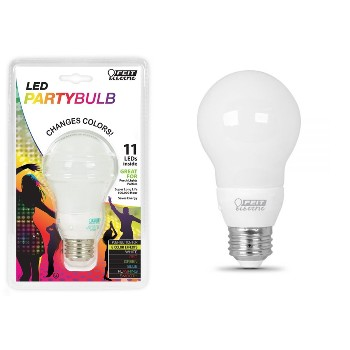 Party Light Bulb, Multicolor ~ 11 LEDs