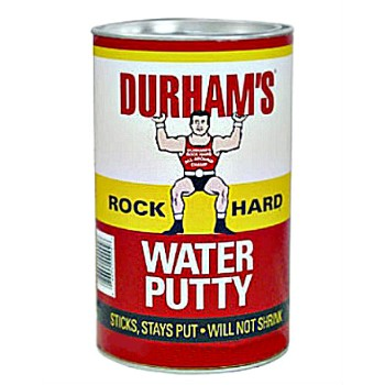 Durham's  Durham Rockhard Water Putty,  4 lbs