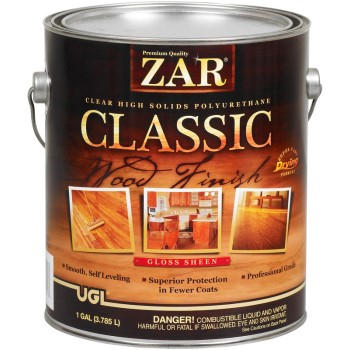Classic Polyurethane Wood Finish, Gloss ~ One Gallon