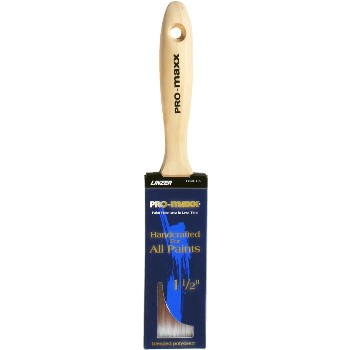 Pro-Maxx Polyester Flat Trim Brush  ~ 1 1/2""
