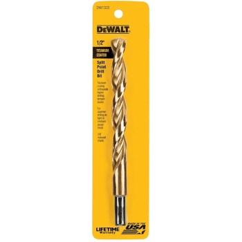 DeWalt DW1332 Titanium Bit, 1/2 inch