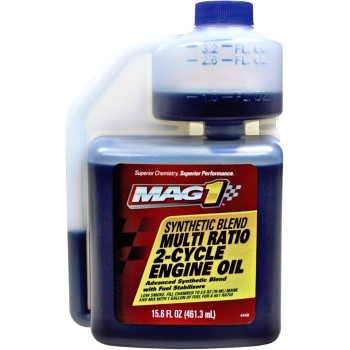 MAG1 Synthetic Blend 2-Cycle Engine Oil ~ 15.6 oz